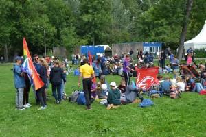 Action day Nurnbergissä on alkamassa