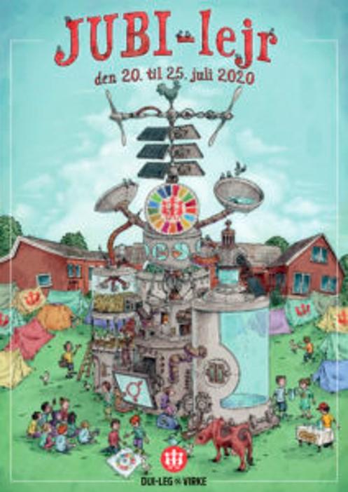 Mainos Jubi-lejr den 20. til 25. juli 2020 Dui-Leg og Virke