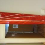 Suuri, punainen isännänviiri
