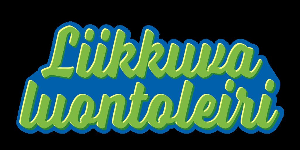 Liikkuva luontoleiri -kampanjan logo
