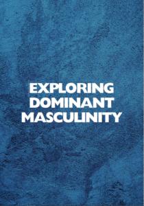 Exploring dominant masculinity oppaan kansi