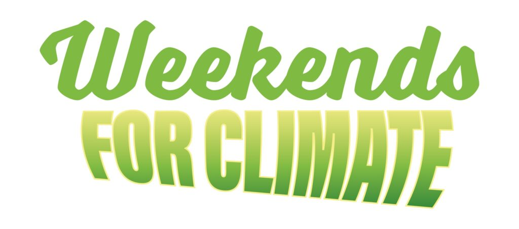 Weekends for Climate -logo